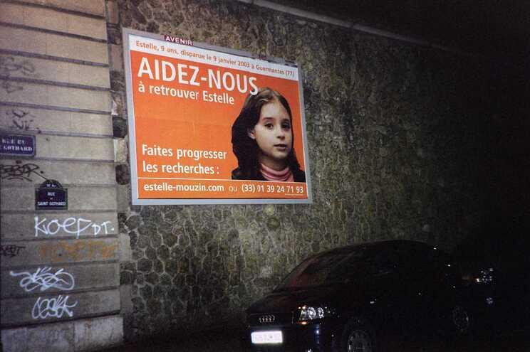 Estelle Mouzin tinha nove anos quando desapareceu