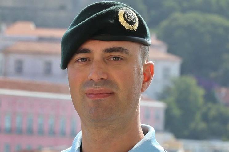 Tenente-coronel Hélder Barros novo porta-voz da GNR Image