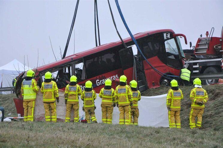 Do acidente resultaram quatro mortes