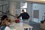 Mauro Vale foi o primeiro a votar na secção destinada aos residentes em Beja