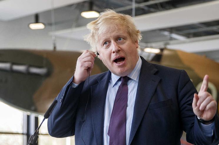 Ministro Boris Johnson