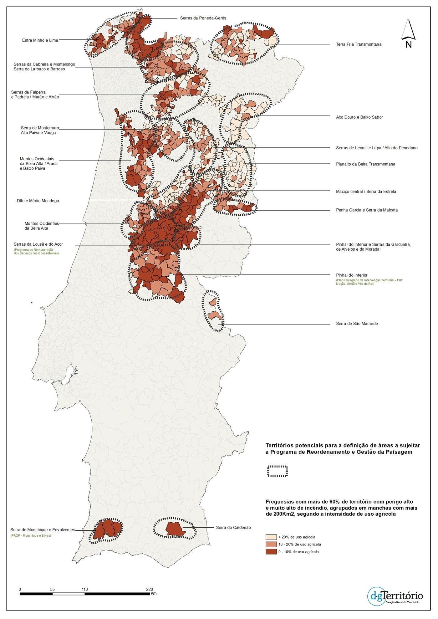 Florestas da Falperra, Lousã e Pinhal serão as próximas a reorganizar