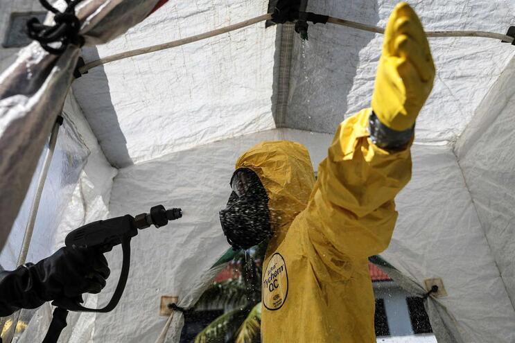 Brasil conta 1532 mortos e 25262 infetados com Covid-19