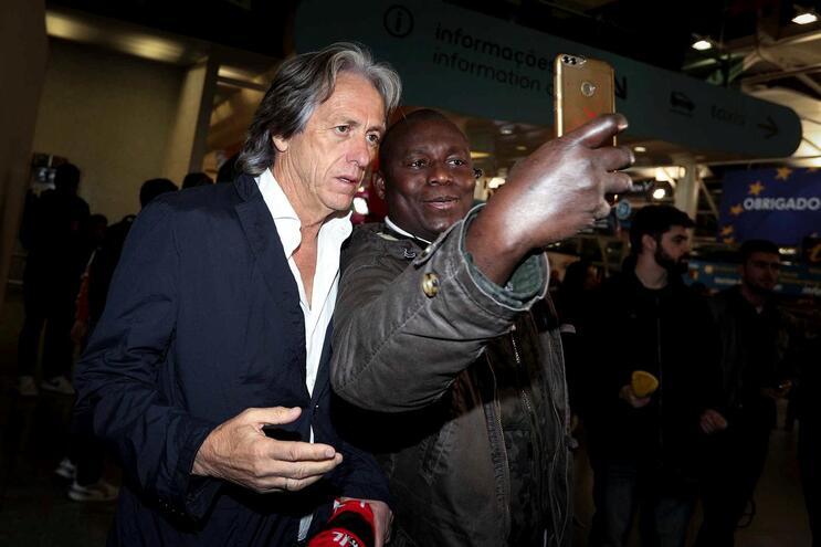 "Jorge Jesus: ""Benfica está num patamar superior"""