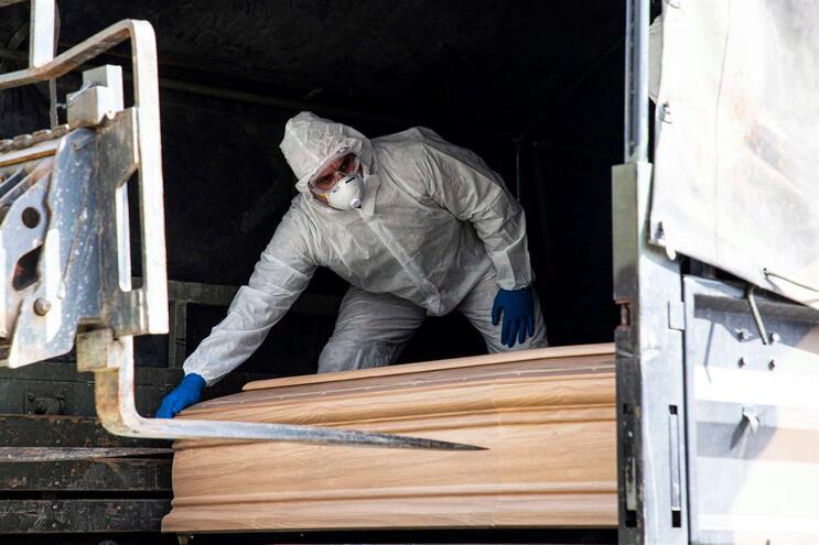 Morreram mais de dez mil pessoas em Itália desde o início da pandemia