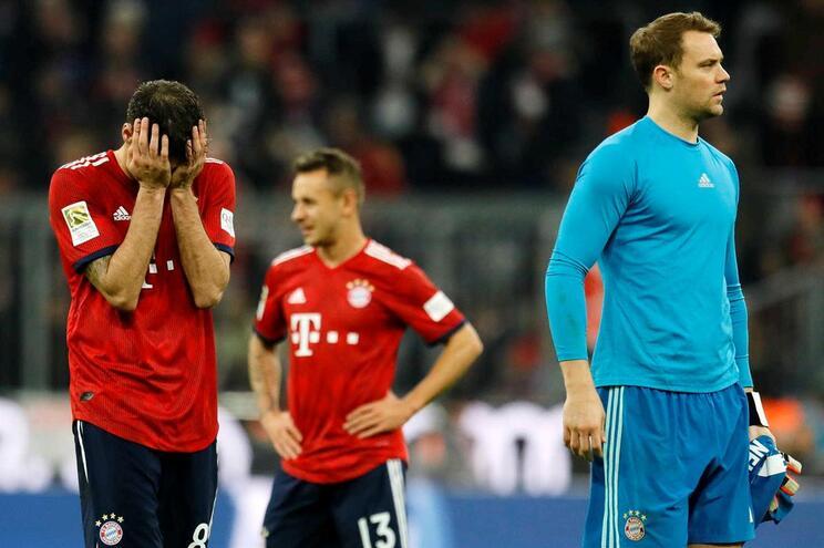 Bayern Munique empata em casa com o Dusseldorf e continua em queda