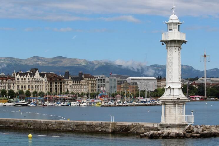 Bain de Paquis, Genebra, Suíça