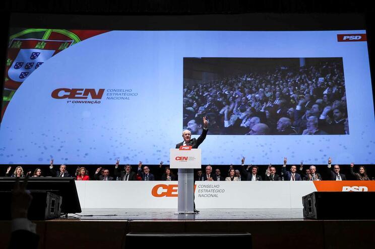 O presidente do Partido Social Democrata (PSD), Rui Rio