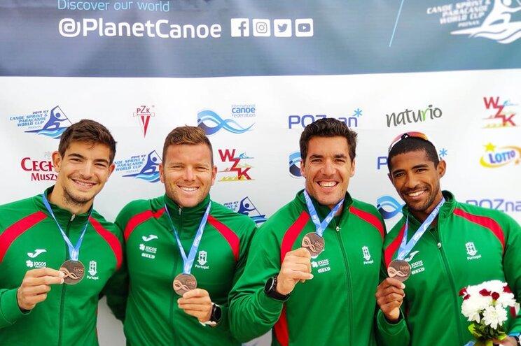 Portugal conquista medalha de bronze na Taça do Mundo de canoagem