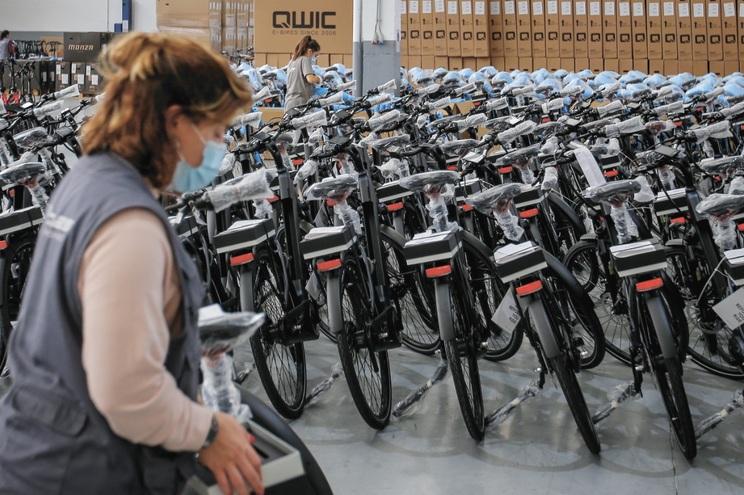 Desde a pandemia, setor das bicicletas já deu emprego direto a 500 pessoas e vai continuar a contratar