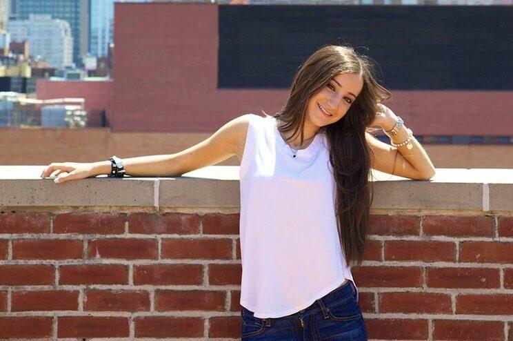 Kayla Barroca aguarda agora o exame de admissão à carreira, no estado de Nova Iorque