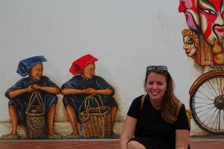 Sofia Macedo, 33 anos, trabalha em marketing digital e mora em Sucre, capital da Bolívia.