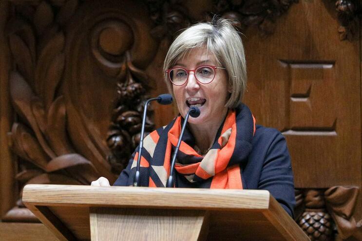 Garantia foi dada pela ministra da Saúde, Marta Temido