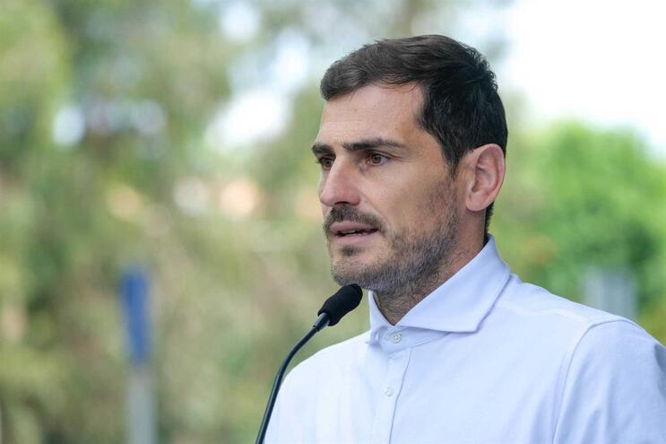 Iker Casillas juntou-se a campanha solidária