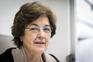 Ana Jorge, médica, ex-ministra da Saúde e uma porta-voz da campanha