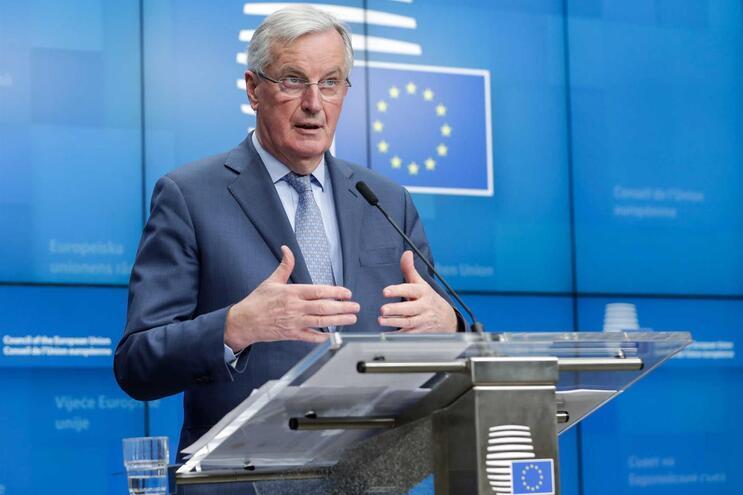 Michel Barnier, negociador-chefe da União Europeia