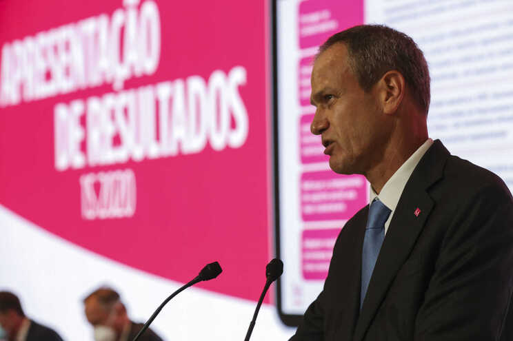 Miguel Maya, presidente do Millennium BCP