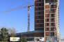 Edifício sobressai junto da VCI,e do Estádio do Dragão. Mesmo ao lado está em construção o Terminal