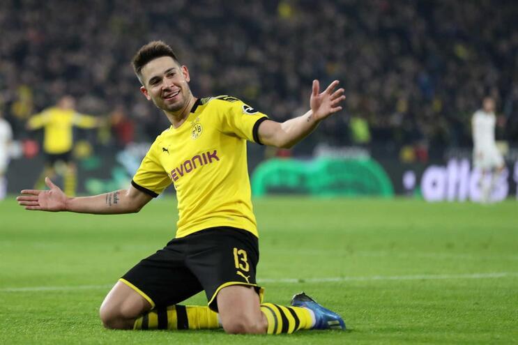 Guerreiro marca pelo Dortmund