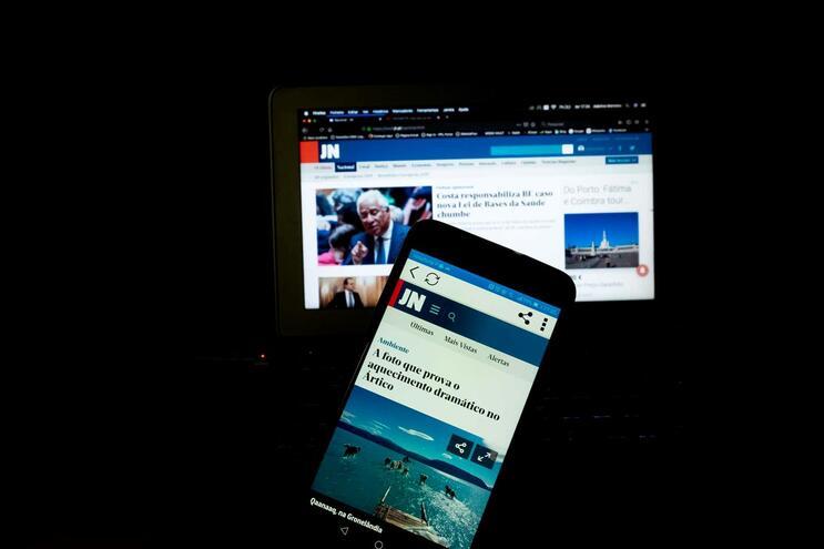 Pelo site do Jornal de Notícias passaram mais de três milhões de leitores em janeiro