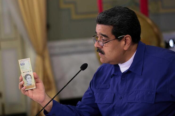 Nicolás Maduro aumenta em 35 vezes o salário mínimo