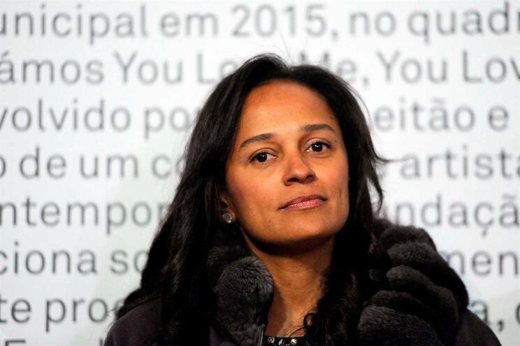 """A empresária Isabel dos Santos é uma das envolvidas na investigação """"Luanda Leaks"""""""