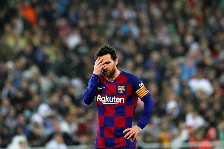 O Barcelona perdeu o clássico frente ao Real Madrid por 2-0