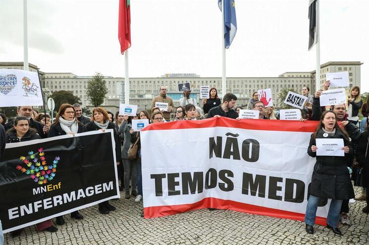 Enfermeiros iniciaram uma segunda greve em blocos operatórios em 31 de janeiro e com término previsto