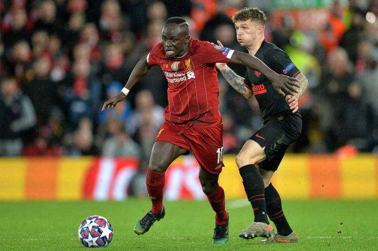 Sadio Mané, do Liverpool