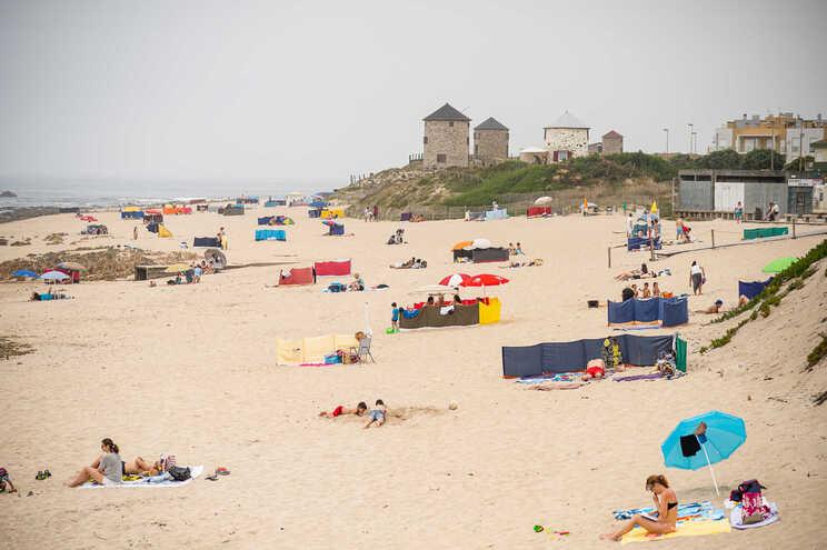 Praia de Apúlia    (Rui Manuel Fonseca/Global Imagens)