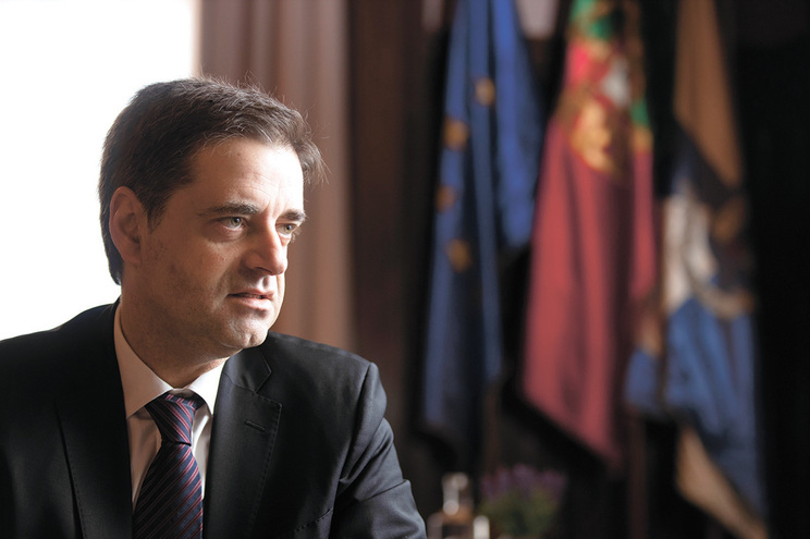 O presidente da Câmara de Braga, Ricardo Rio