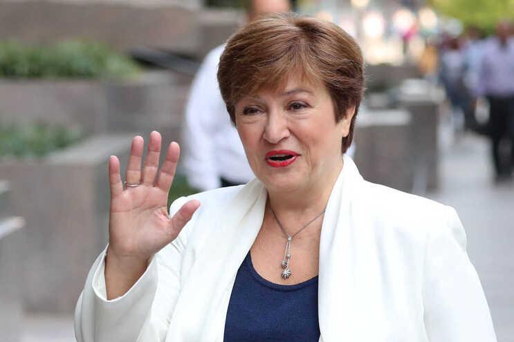 A diretora-geral do Fundo Monetário Internacional, Kristalina Georgieva