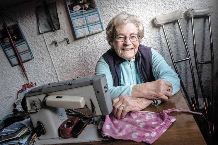 Irene Canelhas foi a costureira da família de Marcelo Rebelo de Sousa no Brasil