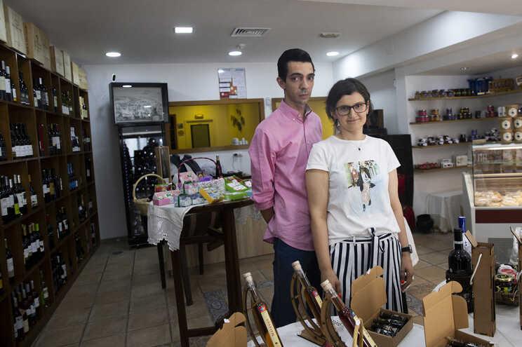 Loja de produtos tracionais Palhusca, em Braga