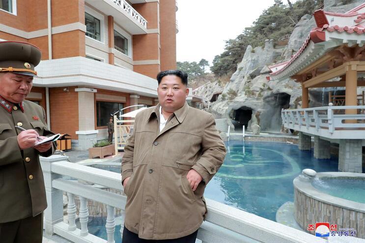 Kim Jong Un, líder da Coreia do Norte