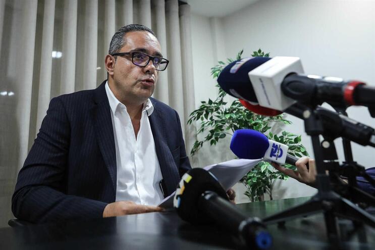 Pedro Pardal Henriques em conferência de imprensa