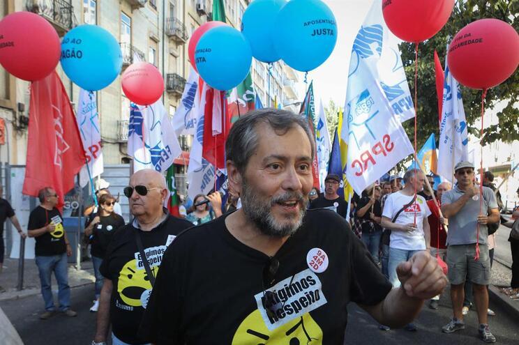 O líder da Fenprof, Mário Nogueira