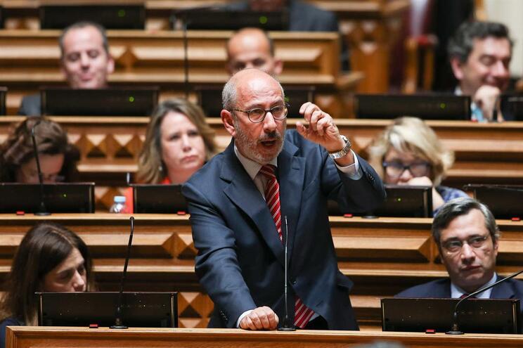 O deputado do Partido Popular - CDS/PP, Telmo Correia