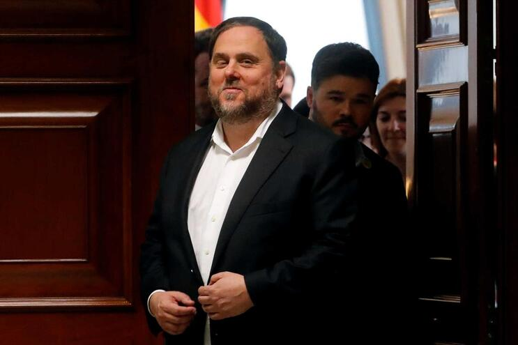 Ex-presidente do governo catalão Oriol Junqueras