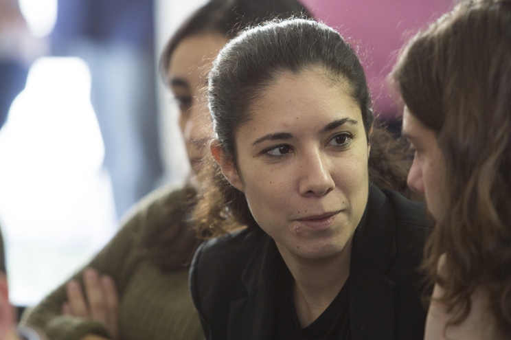 Joana Mortágua, deputada do BE