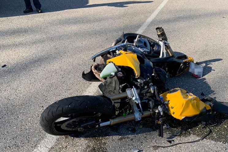 Motociclista morreu em embate contra traseira de ligeiro