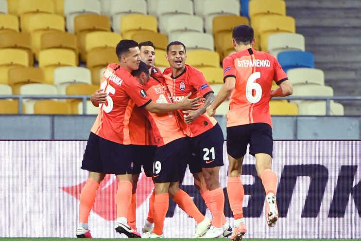 Shakhtar Donetsk está nos quartos de final da Liga Europa