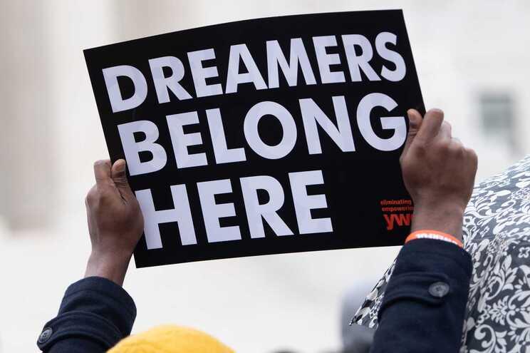 """Manifestação a favor dos """"sonhadores"""""""