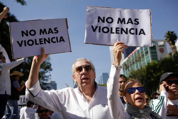 Marcha contra a violência no México