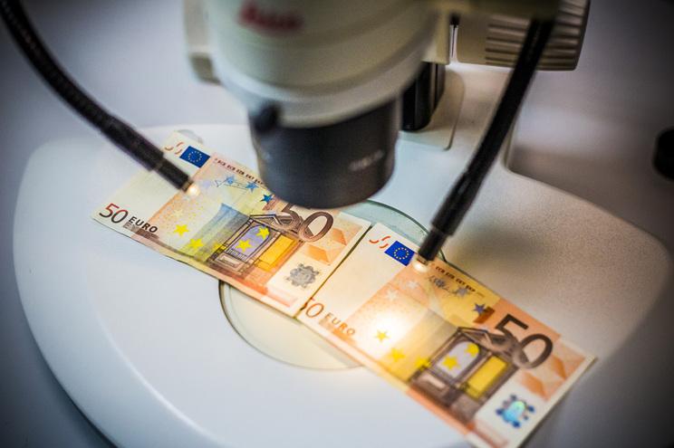 Notas de 50 euros são as mais falsificadas