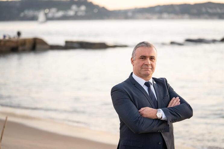 Aníbal Rosa, presidente da Associação dos Profissionais da Polícia Marítima