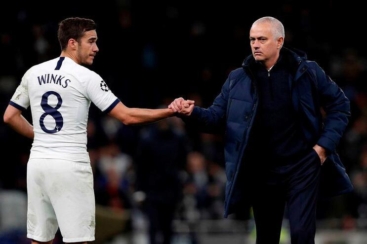 Tottenham de José Mourinho perdeu esta quarta-feira