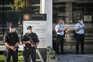 Segurança policial  junto ao tribunal