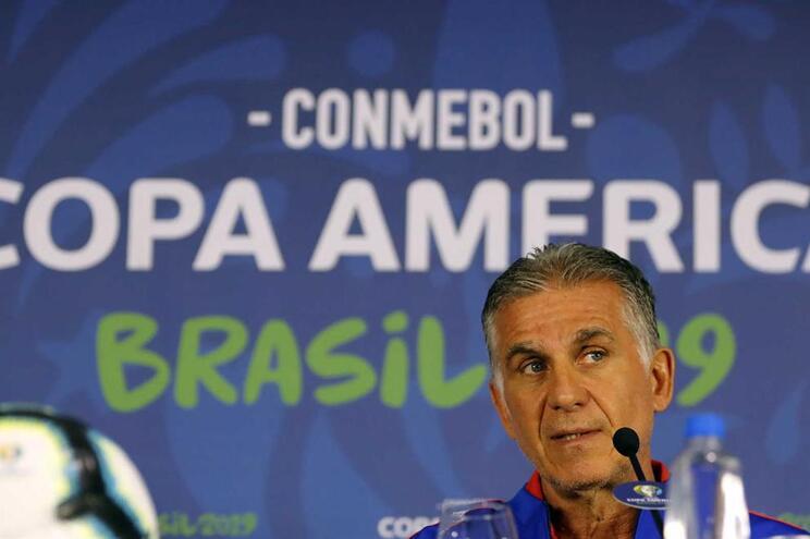Carlos Queiroz é o primeiro treinador português na Copa América