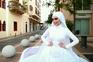 Vídeo de noiva mostra impacto da explosão em Beirute